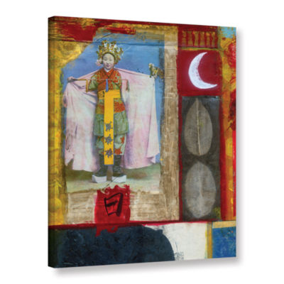 Brushstone Chinese Moon Queen Gallery Wrapped Canvas Wall Art