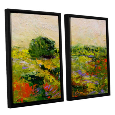 Brushstone Chippenham 2-pc. Floater Framed CanvasWall Art