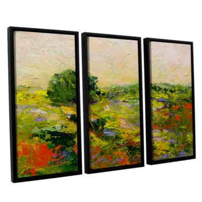 Brushstone Chippenham 3-pc. Floater Framed CanvasWall Art