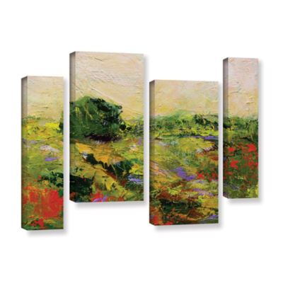 Brushstone Chippenham 4-pc. Gallery Wrapped Staggered Canvas Wall Art