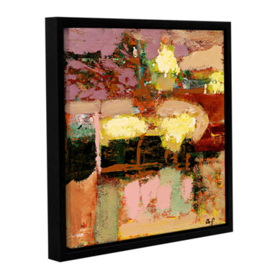 Brushstone Chop Liver Gallery Wrapped Floater-Framed Canvas Wall Art
