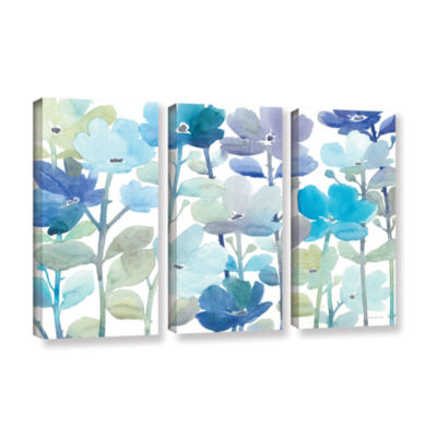 Brushstone Cool Morning Breeze 3-pc. Gallery Wrapped Canvas Wall Art