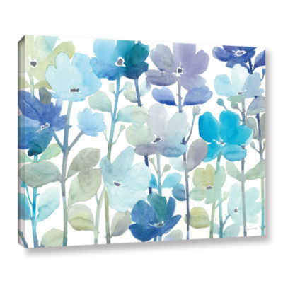 Brushstone Cool Morning Breeze Gallery Wrapped Canvas Wall Art