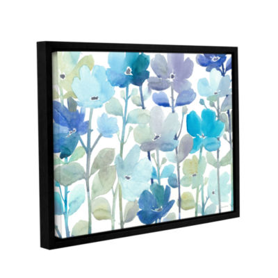 Brushstone Cool Morning Breeze Gallery Wrapped Floater-Framed Canvas Wall Art