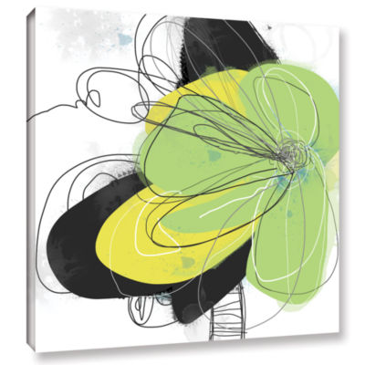 Brushstone Circles Gallery Wrapped Canvas Wall Art