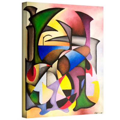 Brushstone Circusowa Gallery Wrapped Canvas Wall Art