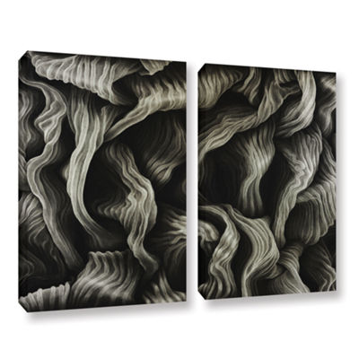 Brushstone Clover 2-pc. Gallery Wrapped Canvas Wall Art
