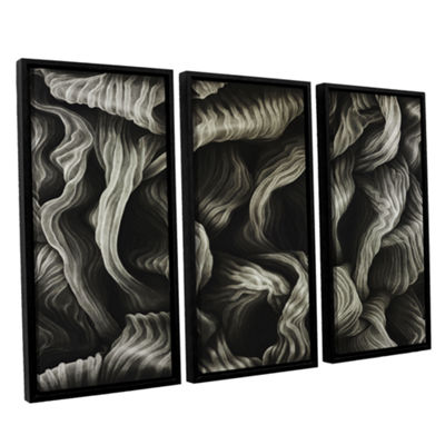 Brushstone Clover 3-pc. Floater Framed Canvas WallArt