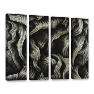 Brushstone Clover 4-pc. Gallery Wrapped Canvas Wall Art
