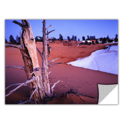 Brushstone Coal Dunes Dusk Removable Wall Decal