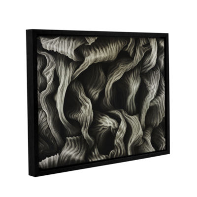 Brushstone Clover Gallery Wrapped Floater-Framed Canvas Wall Art