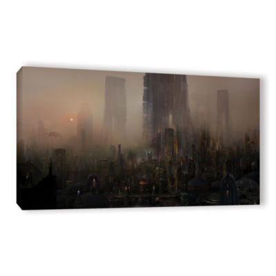 Brushstone Cohabitations Gallery Wrapped Canvas Wall Art