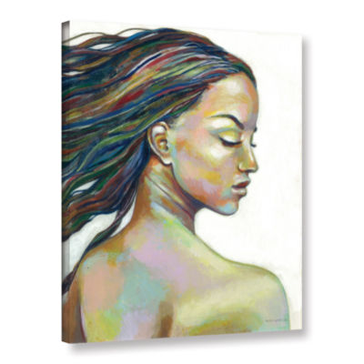 Brushstone Color Blind Gallery Wrapped Canvas WallArt