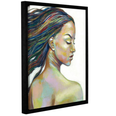Brushstone Color Blind Gallery Wrapped Floater-Framed Canvas Wall Art