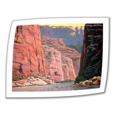 Brushstone Colorado River Walls Canvas Wall Art
