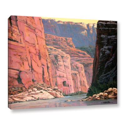 Brushstone Colorado River Walls Gallery Wrapped Canvas Wall Art