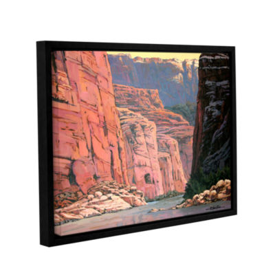 Brushstone Colorado River Walls Gallery Wrapped Floater-Framed Canvas Wall Art