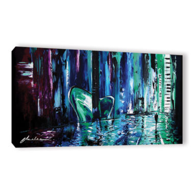 Brushstone City Of Musice Gallery Wrapped Canvas Wall Art