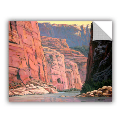 Brushstone Colorado River Walls Removable Wall Decal