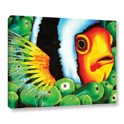 Brushstone Clownfish Gallery Wrapped Canvas Wall Art