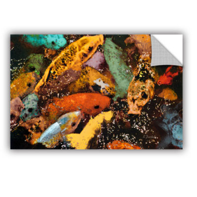 Brushstone Colorful Koi Removable Wall Decal