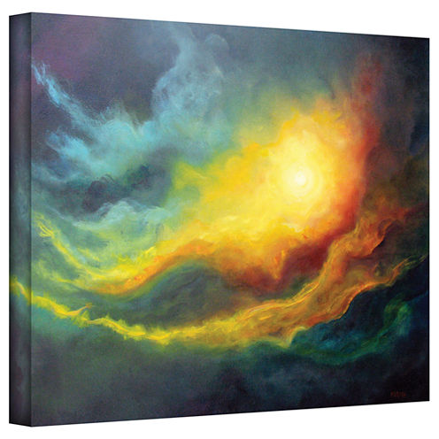 Brushstone Cosmic Light Gallery Wrapped Canvas Wall Art