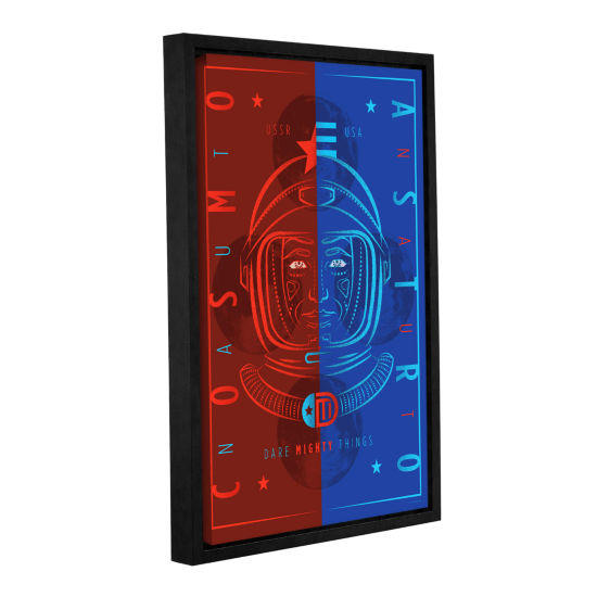 Brushstone Cosmoastro Gallery Wrapped Floater-Framed Canvas Wall Art