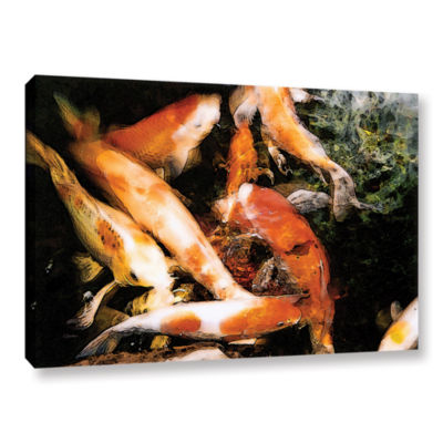 Brushstone Classic Koi Gallery Wrapped Canvas Wall Art