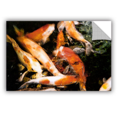 Brushstone Classic Koi Removable Wall Decal