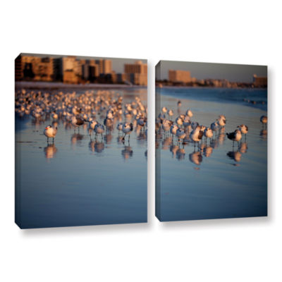 Brushstone 0763a 2-pc. Gallery Wrapped Canvas WallArt