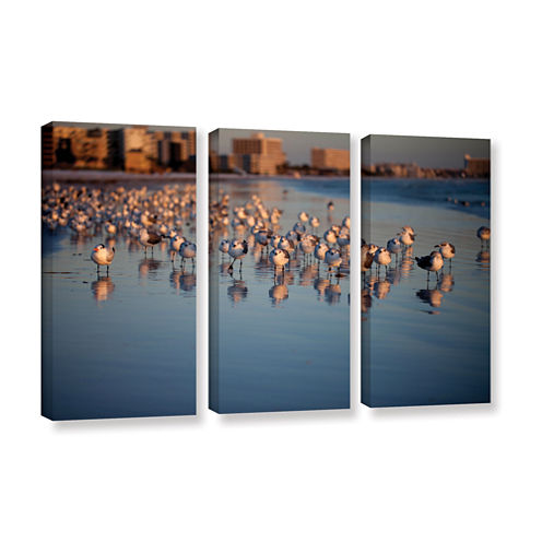 0763a 3-pc. Gallery Wrapped Canvas Wall Art