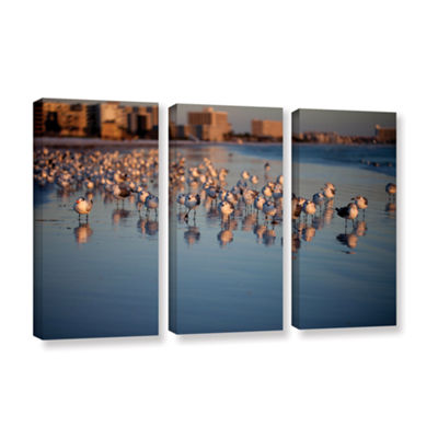 Brushstone 0763a 3-pc. Gallery Wrapped Canvas WallArt