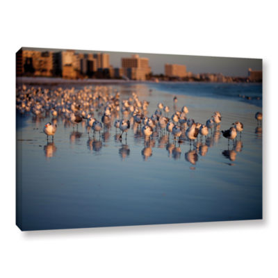 Brushstone 0763a Gallery Wrapped Canvas Wall Art