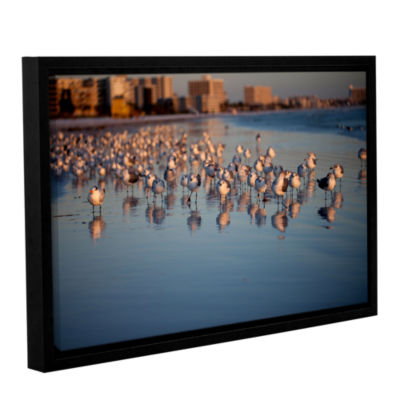 Brushstone 0763a Gallery Wrapped Floater-Framed Canvas Wall Art
