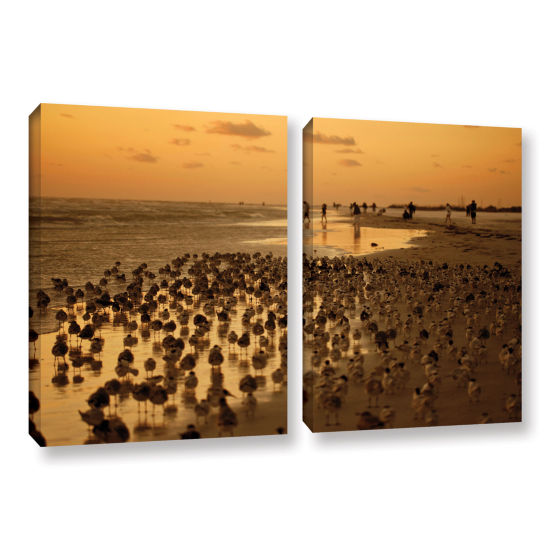 Brushstone 0807a 2-pc. Gallery Wrapped Canvas WallArt
