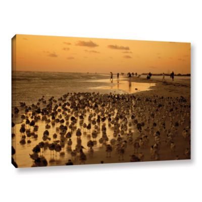 Brushstone 0807a Gallery Wrapped Canvas Wall Art