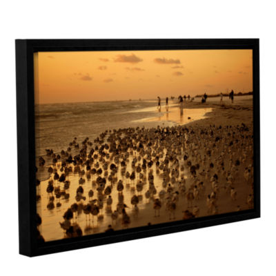 Brushstone 0807A Gallery Wrapped Floater-Framed Canvas Wall Art