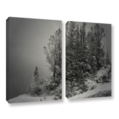 Brushstone 10-000 Feet of Silence 2-pc. Gallery Wrapped Canvas Wall Art