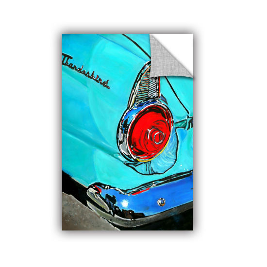 Brushstone 1955 Thunderbird Removable Wall Decal