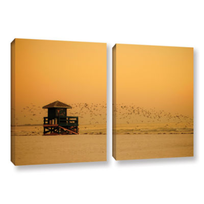 Brushstone 1095AA 2-pc. Gallery Wrapped Canvas Wall Art
