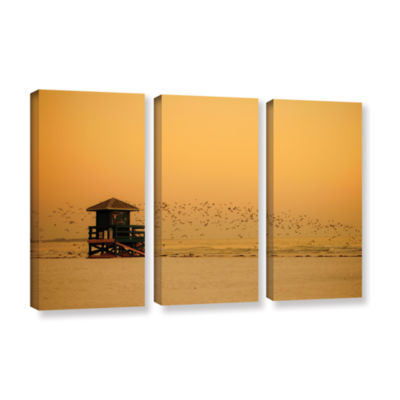 Brushstone 1095aa 3-pc. Gallery Wrapped Canvas Wall Art