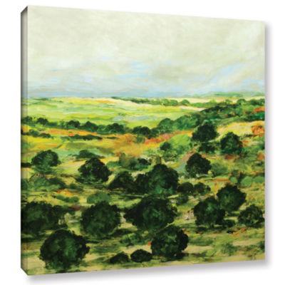 Brushstone Broom Croft Gallery Wrapped Canvas WallArt