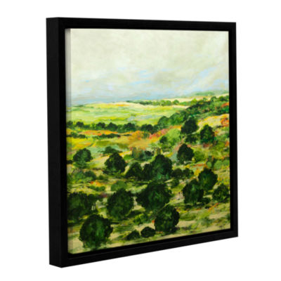 Brushstone Broom Croft Gallery Wrapped Floater-Framed Canvas Wall Art