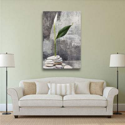 Brushstone Calla Lilly Gallery Wrapped Canvas Wall Art