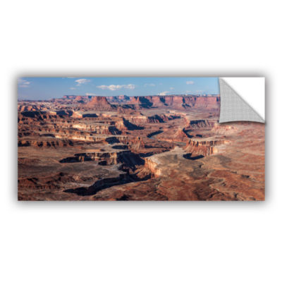 Brushstone Canyonlands Panoramic Removable Wall Decal