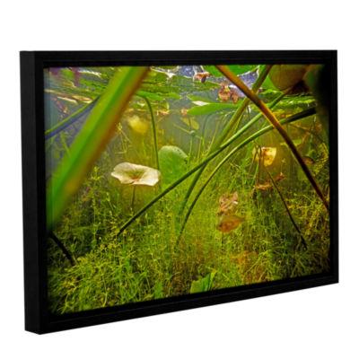 Brushstone Butler Lake #5 Gallery Wrapped Floater-Framed Canvas Wall Art