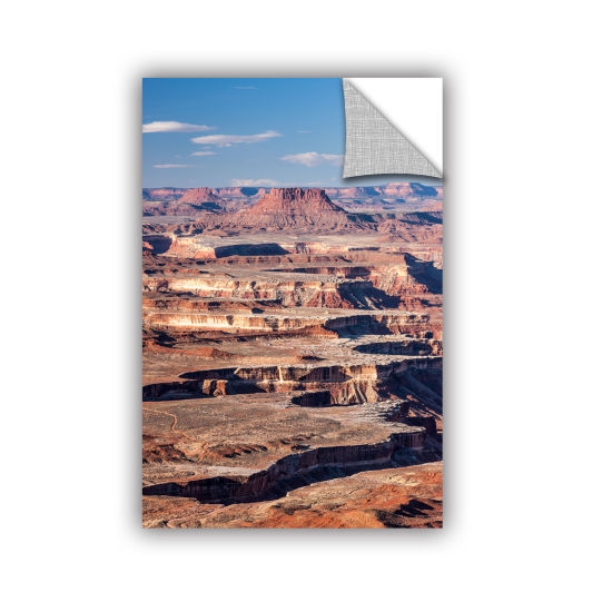Brushstone Canyonlands Vertical Removable Wall Decal