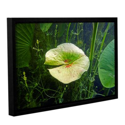 Brushstone Butler Lake #6 Gallery Wrapped Floater-Framed Canvas Wall Art
