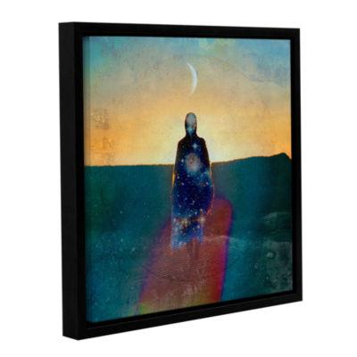 Brushstone Celestial Soul Gallery Wrapped Floater-Framed Canvas Wall Art
