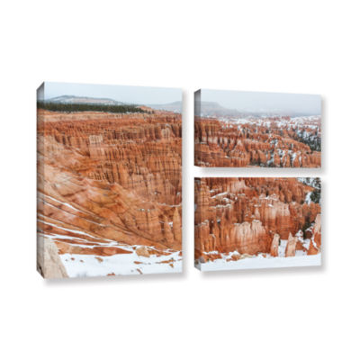 Brushstone Bryce Canyon 3-pc. Flag Gallery WrappedCanvas Wall Art